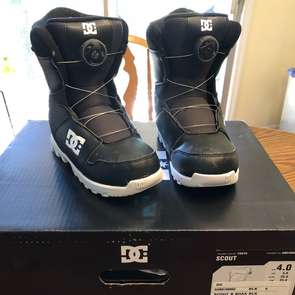 BOA/® Snowboard Boots for Boys DC Shoes Youth Scout